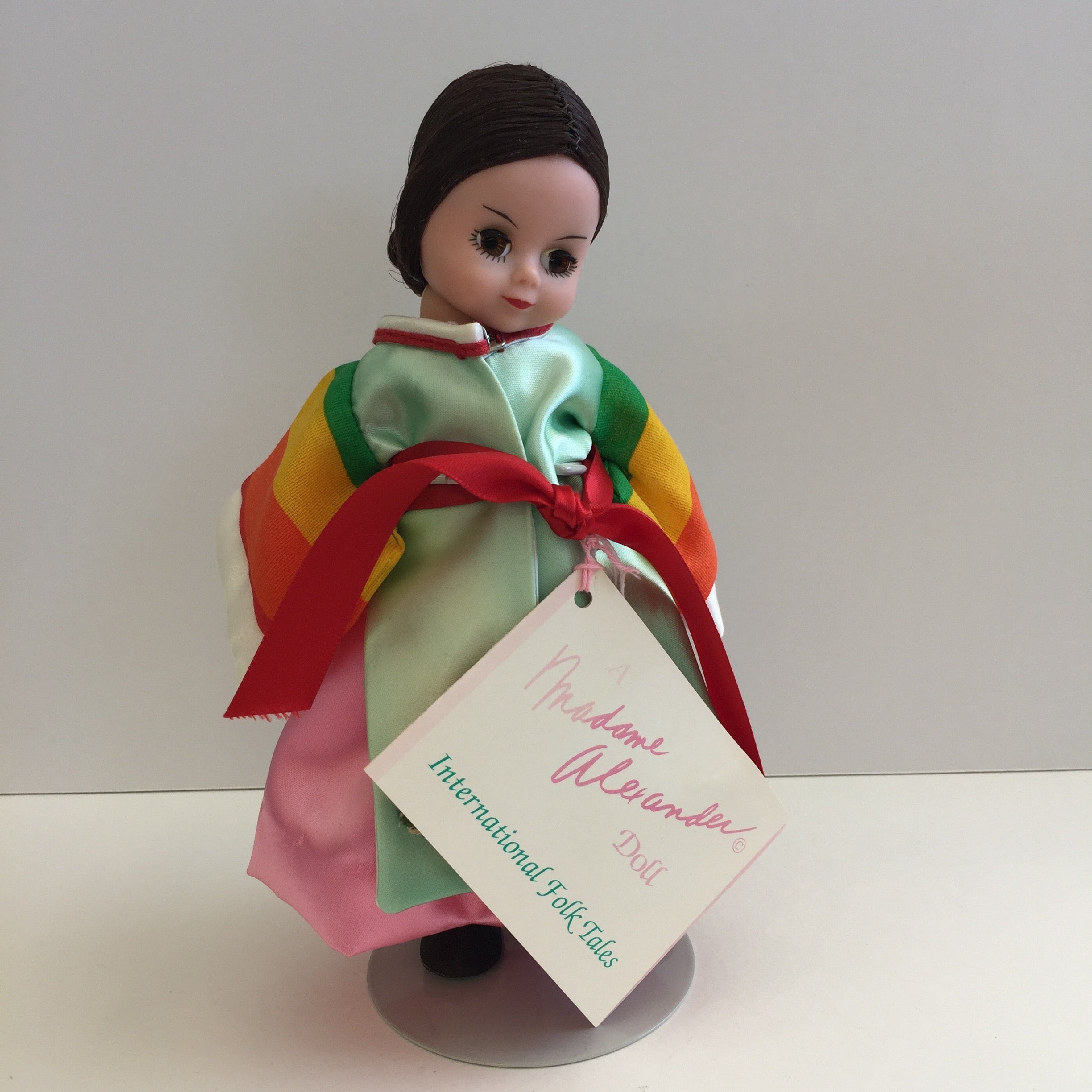 "Mint in box Madame Alexander Collectible 8"" KOREA doll"