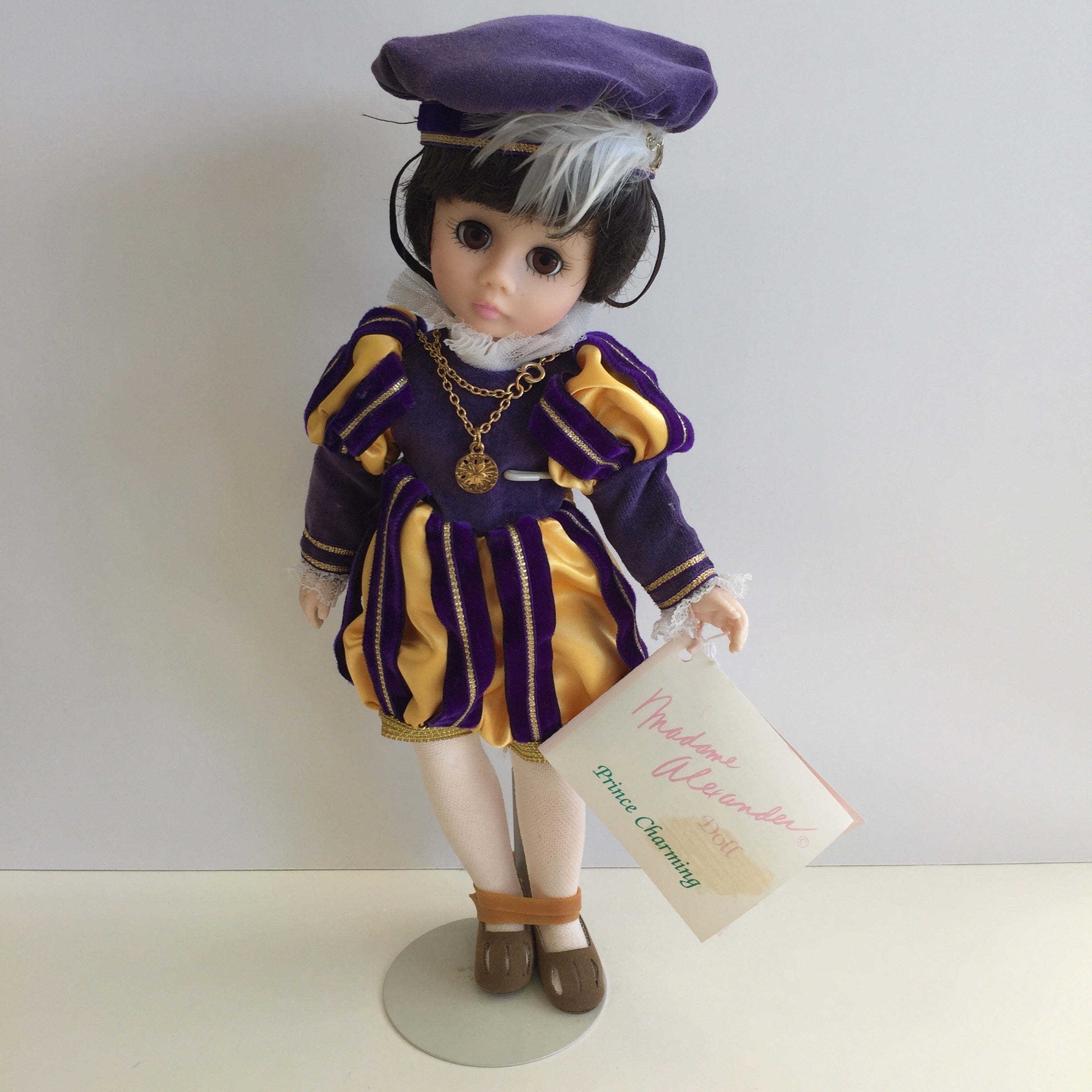 "Mint in box 1990 Madame Alexander 12"" PRINCE CHARMING Collectible Doll"