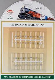 ROAD & RAIL SIGNS