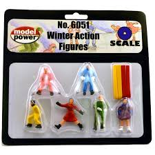 WINTER ACTION FIGURES