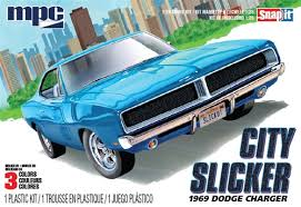 1:25 CITY SLICKER 1969 DODGE CHARGER (SNAP IT)