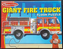 GIANT FIRE TRUCK (24PC)