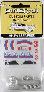 BAJA CHAMP PARTS/DECALS