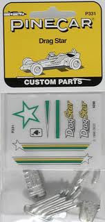 DRAG STAR PARTS/DECALS