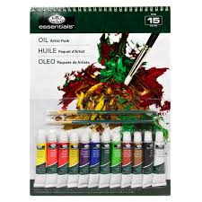 ESSENTIALS OIL ARTIST PACK