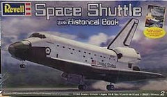 1:144 SPACE SHUTTLE W/HISTORICAL BOOK (OPEN BOX)