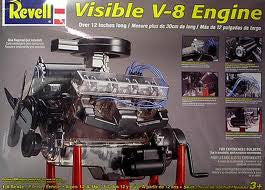 1:4 VISIBLE V-8 ENGINE