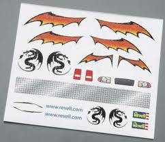 DRY TRANSFER DECAL F