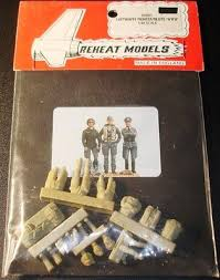 1:48 LUFTWAFFE FIGHTER PILOTS WWII (3 FIGURES)