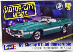 1:25 '69 SHELBY GT500 CONVERTIBLE