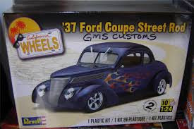 1:24 '37 FORD COUPE STREET ROD