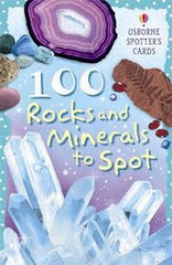 100 ROCKS & MINERALS TO SPOT