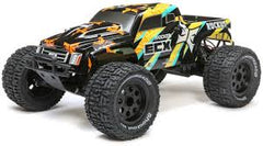 1:10 RUCKUS 2WD MONSTER TRUCK RTR (BLACK/YELLOW)