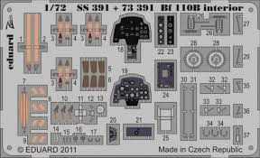 1:72 BF 110B INTERIOR SELF ADHESIVE