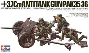 1:35 GERMAN 37MM ANTI-TANK GUN