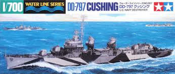 1:700  U.S. NAVY DD-797 'CUSHING'