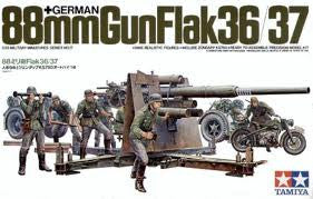 1:35 GERMAN 88MM GUN FLAK 36/37