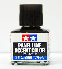 PANEL LINE ACCENT COLOR (BLACK)
