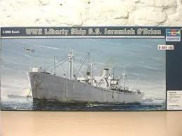 1:350 SS J. O'BRIEN WWII LIBERTY SHIP