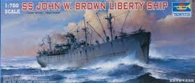 1:700 SS JOHN W. BROWN LIBERTY SHIP