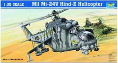 1:35 MIL MI-24V HIND-E HELICOPTER W/OPTIONS