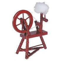 ACC. SPINNING WHEEL WALNUT