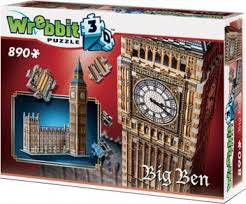 3D BIG BEN (890 PIECES)