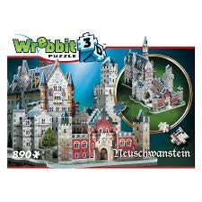 CASTLE OF NEUSCHWANSTEIN 3D (890 PIECES)
