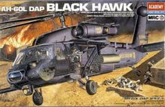 1:35 AH-60L DAP BLACK HAWK W/PHOTO ETCH (OPEN BOX)