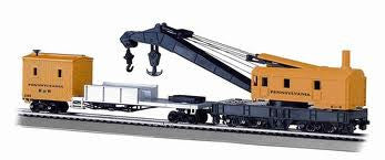 CRANE CAR WITH BOOM TENDER