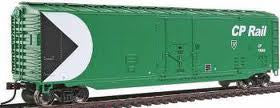 50' PLUG DOOR BOXCAR - CP RAIL