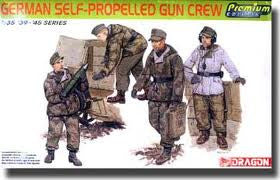 1:35 GERMAN SELF-PROPELLED GUN CREW