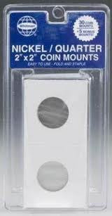Nickel-Quarter Pack Mylar (35)