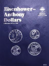 Folder Dollar Eisenhower/Anthony 1971-1999