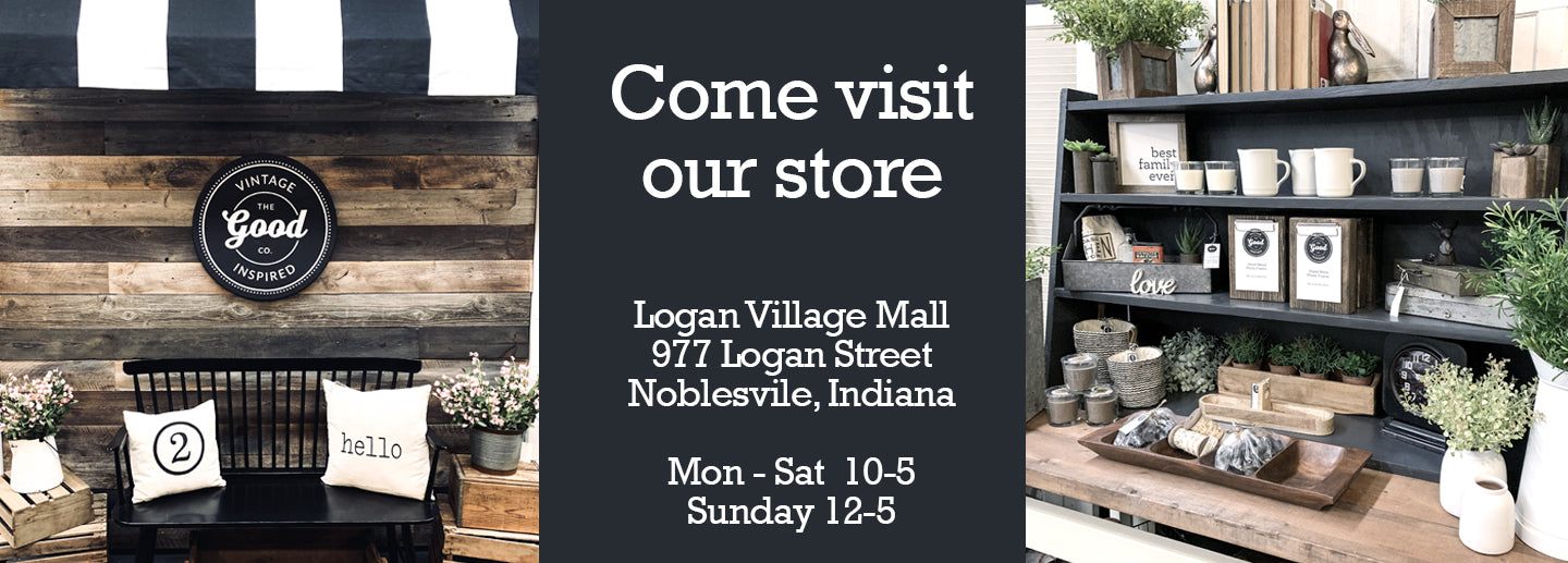 Shop The Good Co at Logan Village Mall in Noblesville, IN
