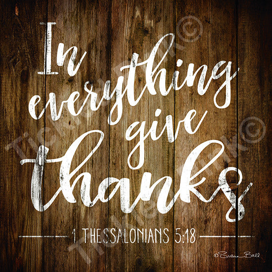 In Everything Give Thanks Print