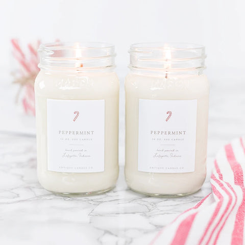 Antique Candle Co. - Peppermint