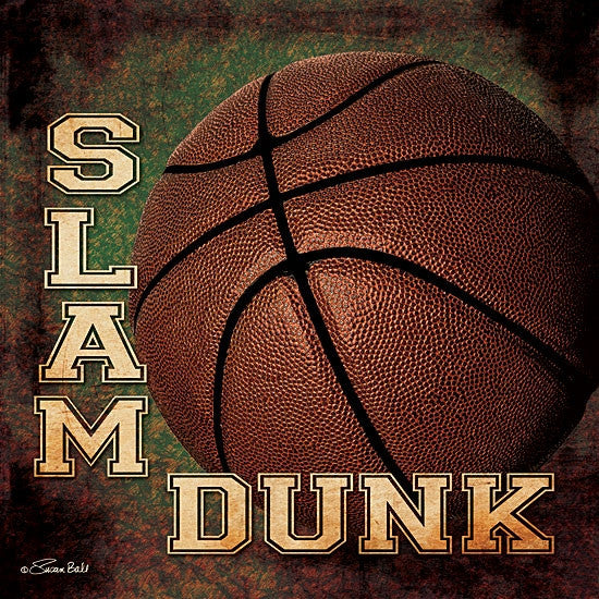 Slam Dunk Basketball Print