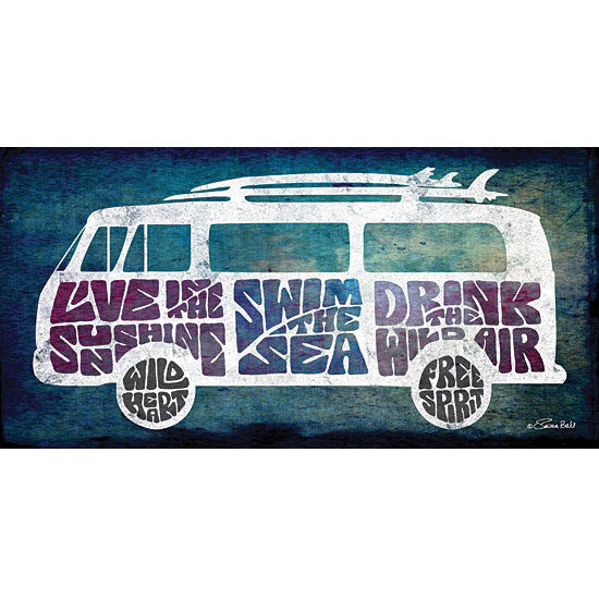 Magic Bus / VW Van Art Print