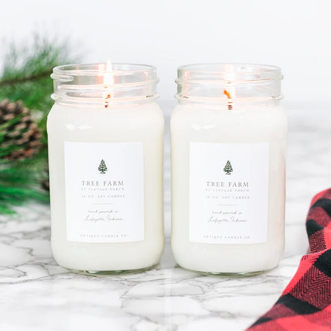 Antique Candle Co. - Tree Farm by Vintage Porch