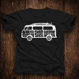 Magic Bus VW Bus Unisex Tshirt