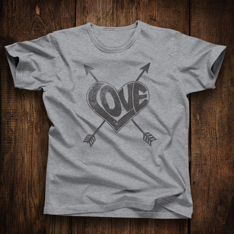 Love Heart Unisex Tshirt