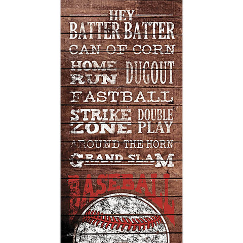 Baseball Terms Home Run Grand Slam Print