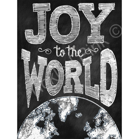 Joy to the World Art Print
