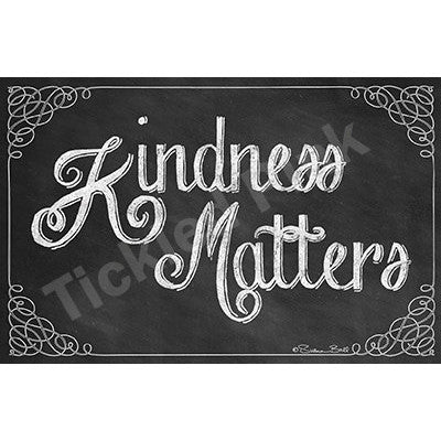 Kindness Matters Art Print