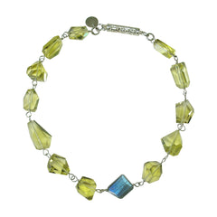 Lemon Citrine necklace by Carol Lipworth Designs