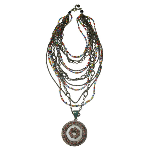 Ethnic Layered Necklace
