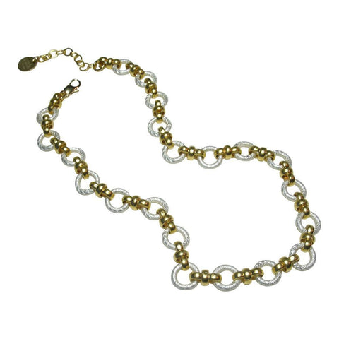 Gold & Silver Plate Necklace