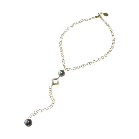 South Sea Pearl & Gold Necklace