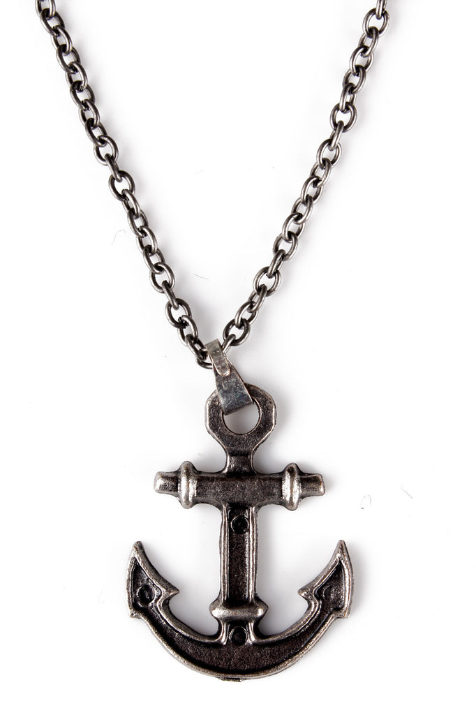 Nautical Necklace Anchor Pendant